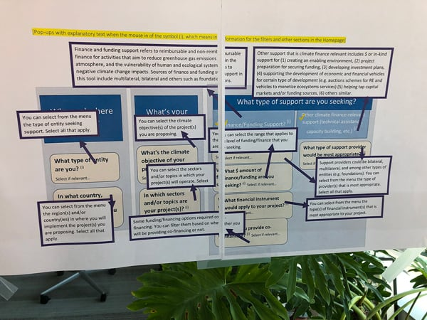 Darwin - NDC Partnership workshop decision map